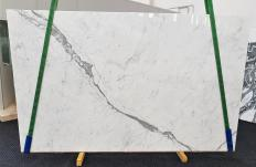 Supply polished slabs 1.2 cm in natural marble STATUARIETTO 1416. Detail image pictures