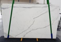 Supply sawn slabs 0.8 cm in natural marble STATUARIO EXTRA 1273. Detail image pictures