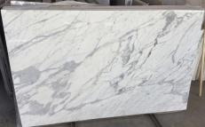 Supply polished slabs 1.2 cm in natural marble STATUARIO VENATO #1408. Detail image pictures