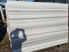 Supply polished slabs 0.8 cm in natural marble STRIATO OLIMPIO AL0015. Detail image pictures