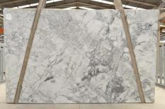Supply polished slabs 1.2 cm in natural Dolomite SUPER WHITE 2481. Detail image pictures