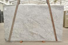 Supply polished slabs 0.8 cm in natural Dolomite SUPER WHITE BQ02360. Detail image pictures