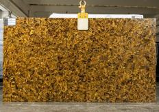 Supply polished slabs 1 cm in natural semi precious stone TIGER EYE RANDOM LA3. Detail image pictures