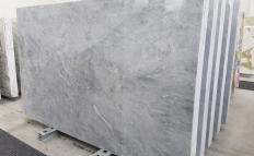Supply polished slabs 0.8 cm in natural marble TRAMBISERA 1202. Detail image pictures