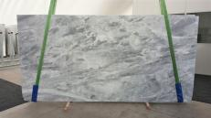 Supply polished slabs 0.8 cm in natural marble TRAMBISERA GL 938. Detail image pictures