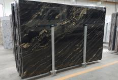 Supply polished slabs 0.8 cm in natural quartzite TROPICAL STORM 1537G. Detail image pictures
