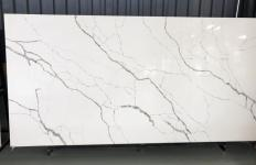 Supply polished slabs 0.8 cm in artificial aglo quartz TUARIETTO V7001 V7001. Detail image pictures