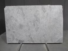 Supply honed slabs 0.8 cm in natural marble TUNDRA GREY 1726M. Detail image pictures