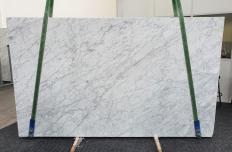 Supply polished slabs 1.2 cm in natural marble VENATINO BIANCO 1267. Detail image pictures