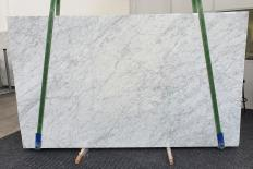 Supply polished slabs 0.8 cm in natural marble VENATINO BIANCO 1267. Detail image pictures