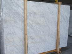 Supply polished slabs 1.2 cm in natural marble VENATINO BIANCO SR_28342. Detail image pictures