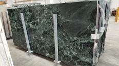 Supply polished slabs 1.2 cm in natural marble VERDE ALPI 1566M. Detail image pictures
