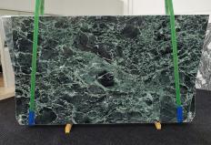 Supply polished slabs 0.8 cm in natural marble VERDE ALPI 1460. Detail image pictures