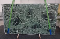 Supply polished slabs 0.8 cm in natural marble VERDE ALPI GL 1041. Detail image pictures