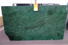 Supply polished slabs 0.8 cm in natural marble VERDE GUATEMALA AL0151. Detail image pictures