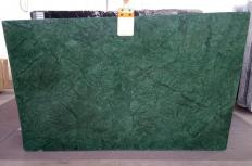 Supply polished slabs 0.8 cm in natural marble VERDE GUATEMALA AL0152. Detail image pictures