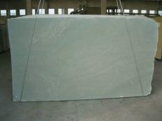 Supply polished slabs 0.8 cm in natural marble VERDE LAGUNA SR_070373. Detail image pictures