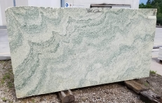 Supply rough blocks 64 cm in natural marble Vert d'Estours N320. Detail image pictures