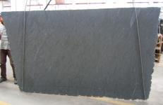 Supply brushed slabs 0.8 cm in natural granite VIRGINIA MIST C-16884. Detail image pictures