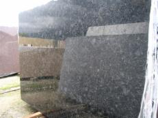 Supply polished slabs 0.8 cm in natural labradorite VOLGA BLUE EDM25118. Detail image pictures