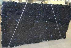 Supply polished slabs 0.8 cm in natural labradorite VOLGA BLUE CVVOBL25. Detail image pictures