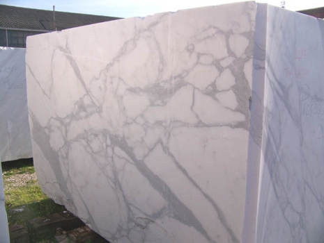 CALACATTA ORO EXTRA Supply (Italy) rough blocks C-PR2003 natural marble