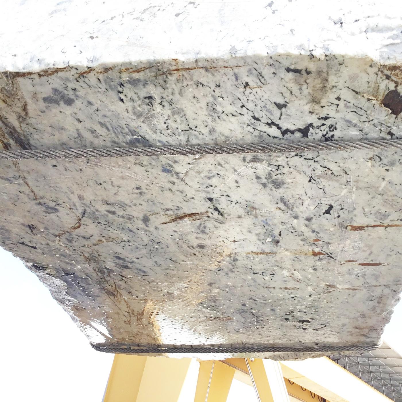 LABRADORITE BIANCA rough blocks GL D190308 , Face B natural labradorite