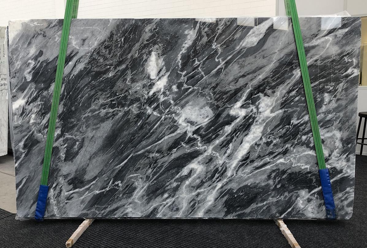 BARDIGLIO NUVOLATO SCURO polished slabs 1172 , Bundle #1 natural marble