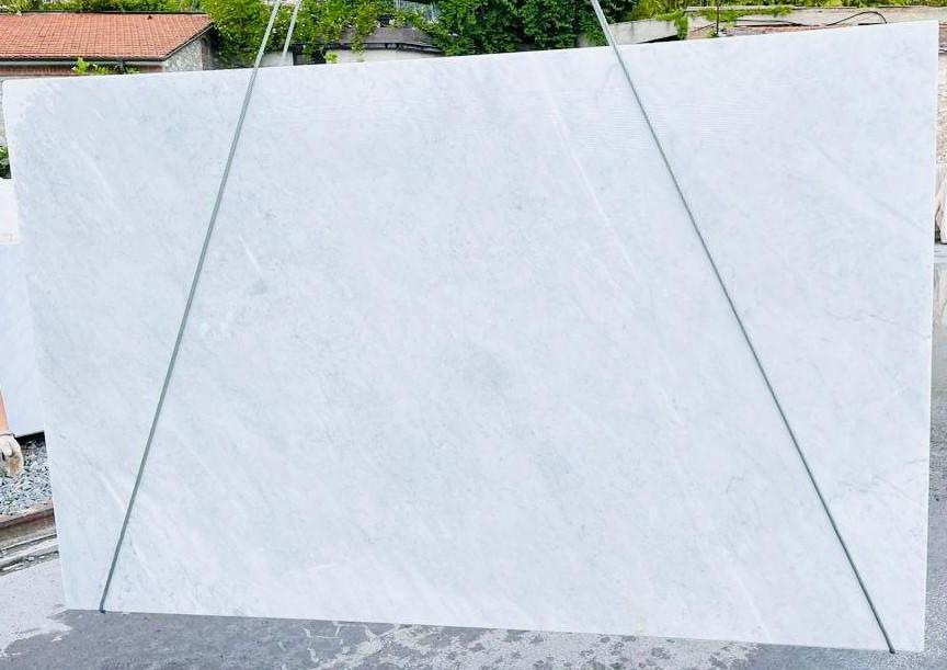 BIANCO CARRARA C Supply Veneto (Italy) rough slabs D210930 , Bnd05 natural marble