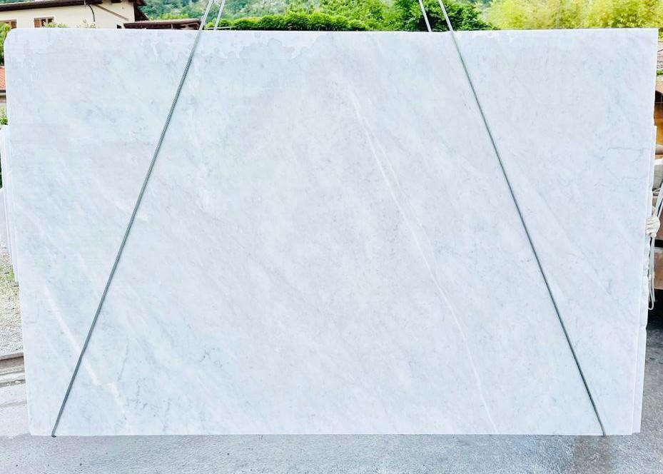BIANCO CARRARA C Supply Veneto (Italy) rough slabs D210930 , Bnd07 natural marble