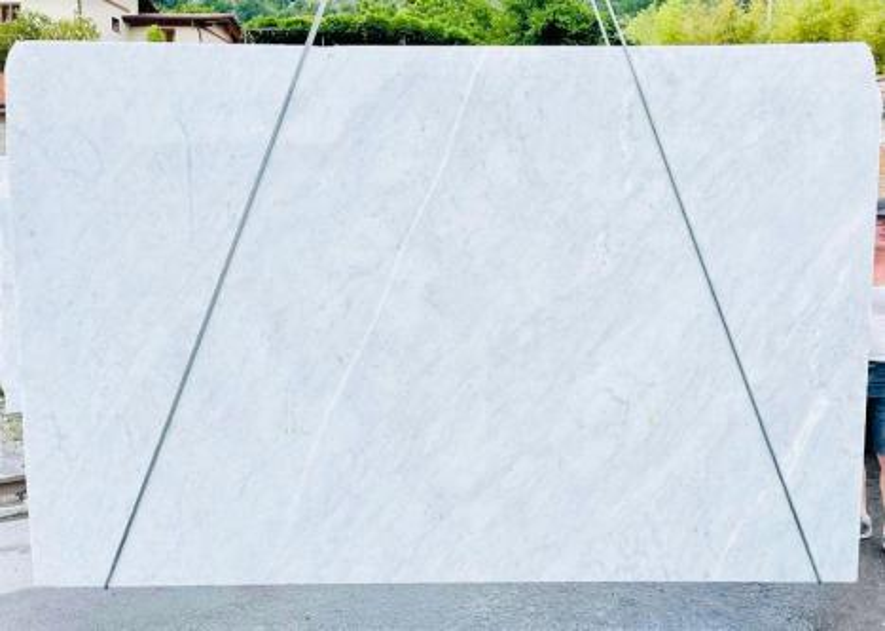 BIANCO CARRARA C Supply Veneto (Italy) rough slabs D210930 , Bnd08 natural marble
