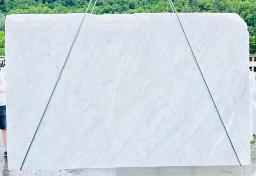 BIANCO CARRARA C Supply Veneto (Italy) rough slabs D210930 , Bnd10 natural marble