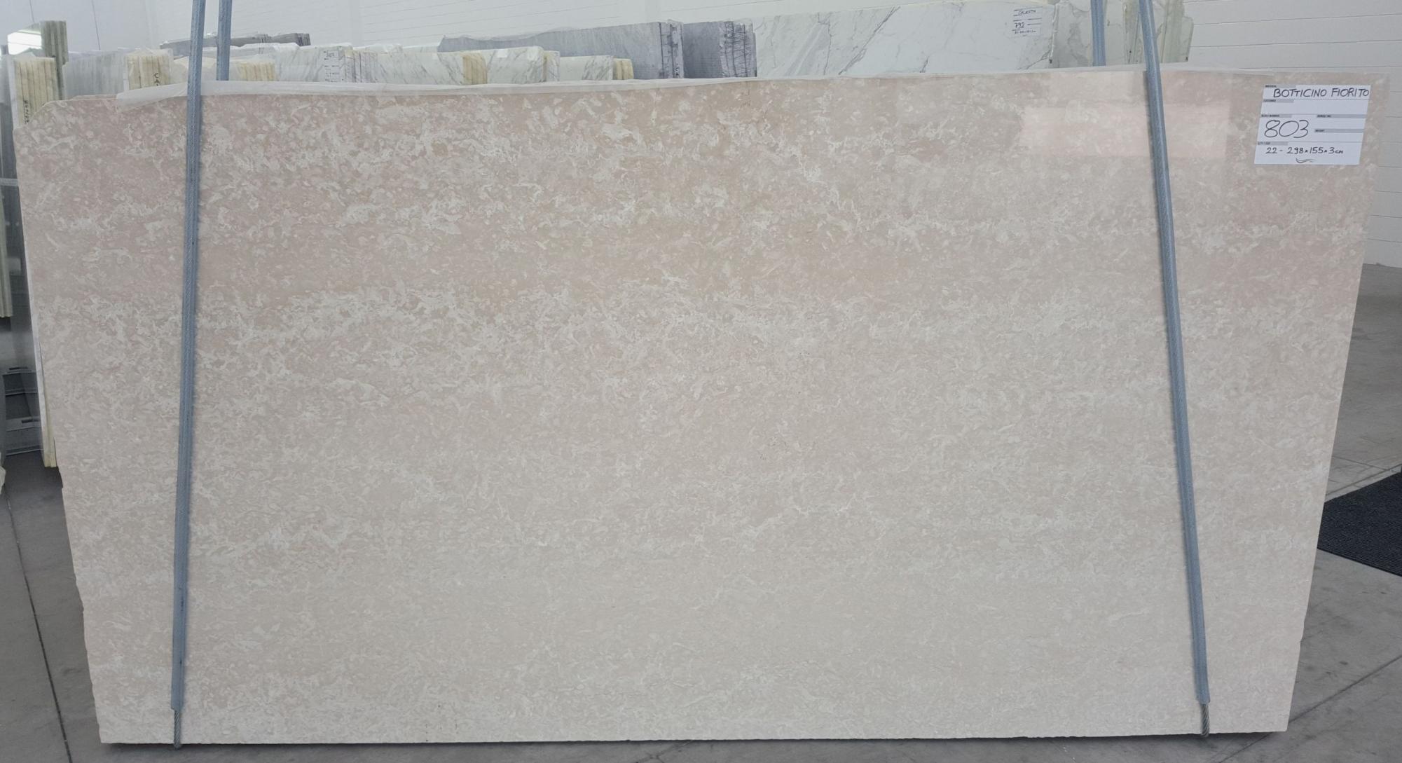 BOTTICINO FIORITO LIGHT polished slabs 1149 , Bundle #1-2 natural marble