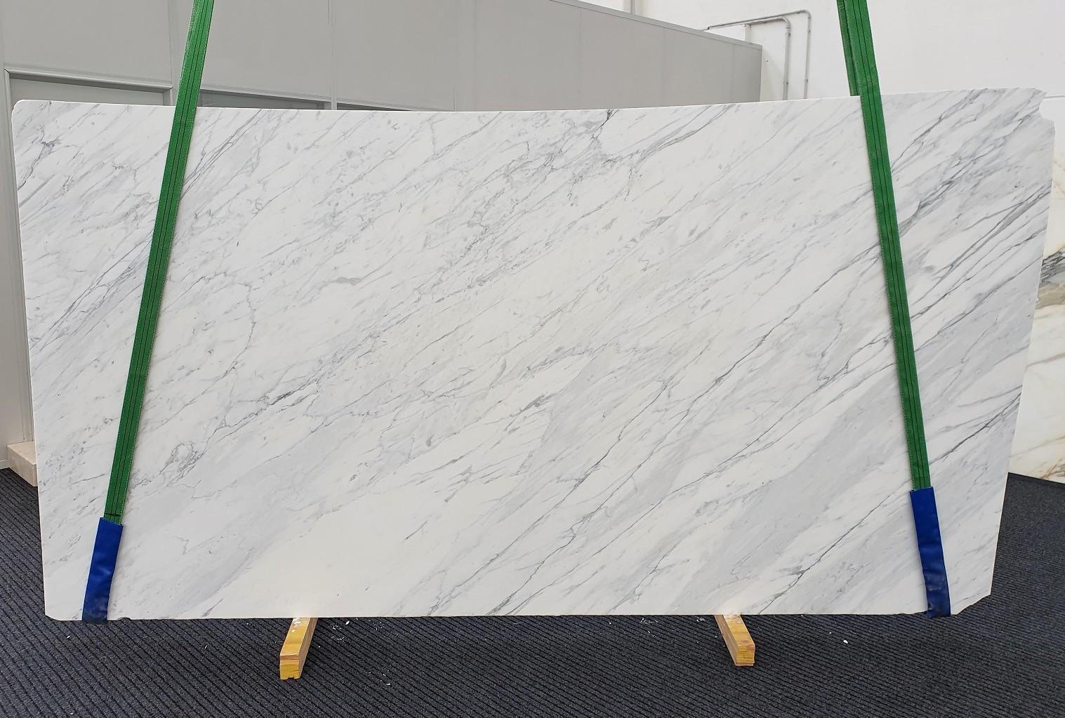 CALACATTA CARRARA Supply Veneto (Italy) honed slabs 1313 , Slab #19 natural marble