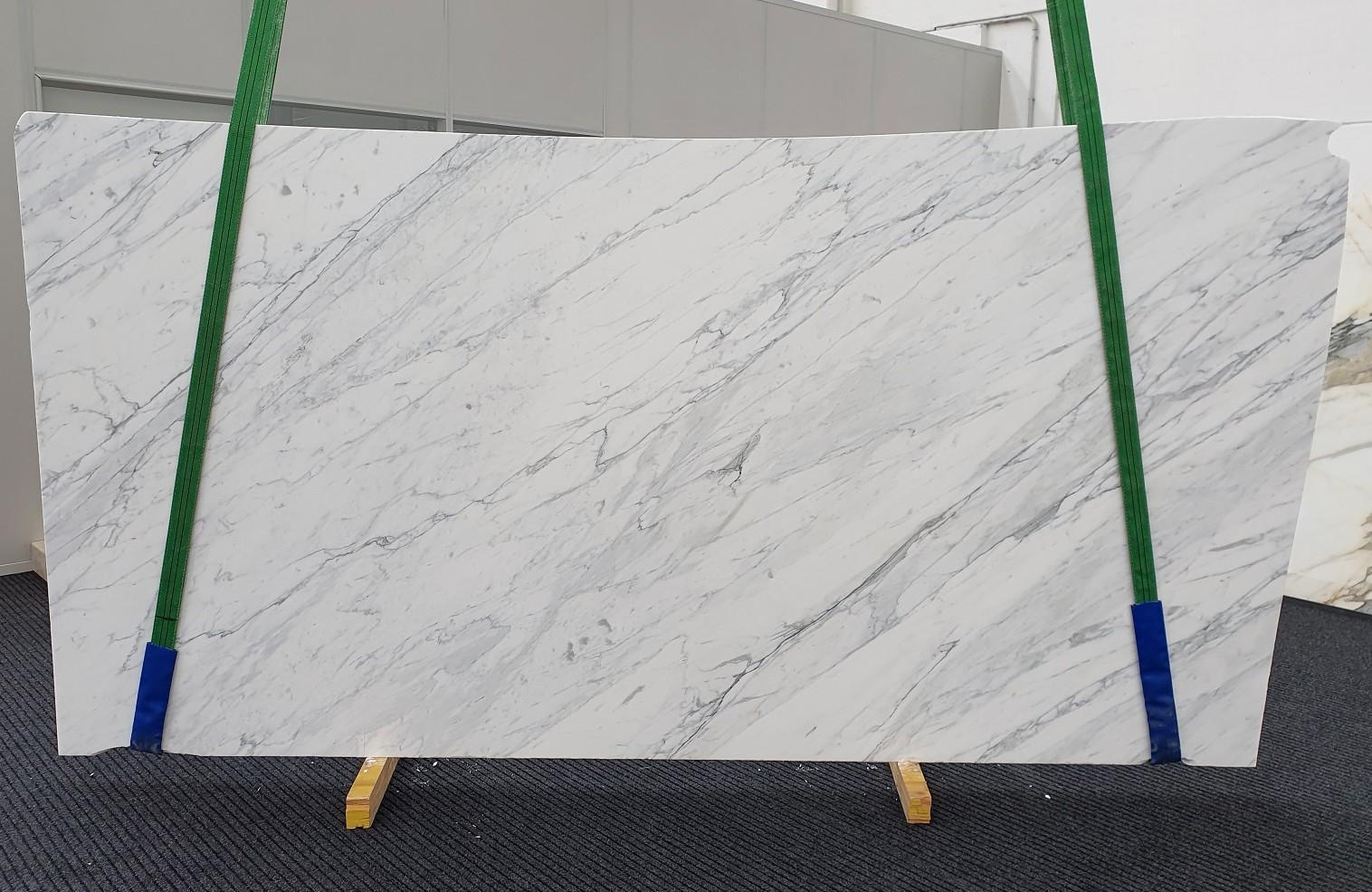CALACATTA CARRARA Supply Veneto (Italy) honed slabs 1313 , Slab #35 natural marble