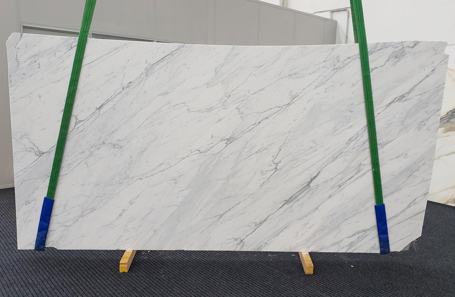 CALACATTA CARRARA Supply Veneto (Italy) honed slabs 1313 , Slab #43 natural marble