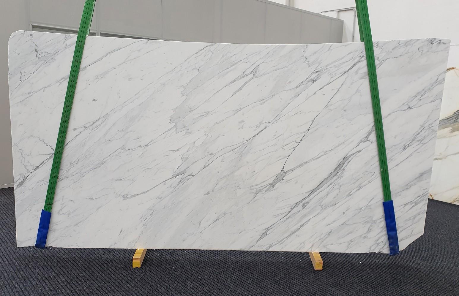 CALACATTA CARRARA Supply Veneto (Italy) honed slabs 1313 , Slab #51 natural marble