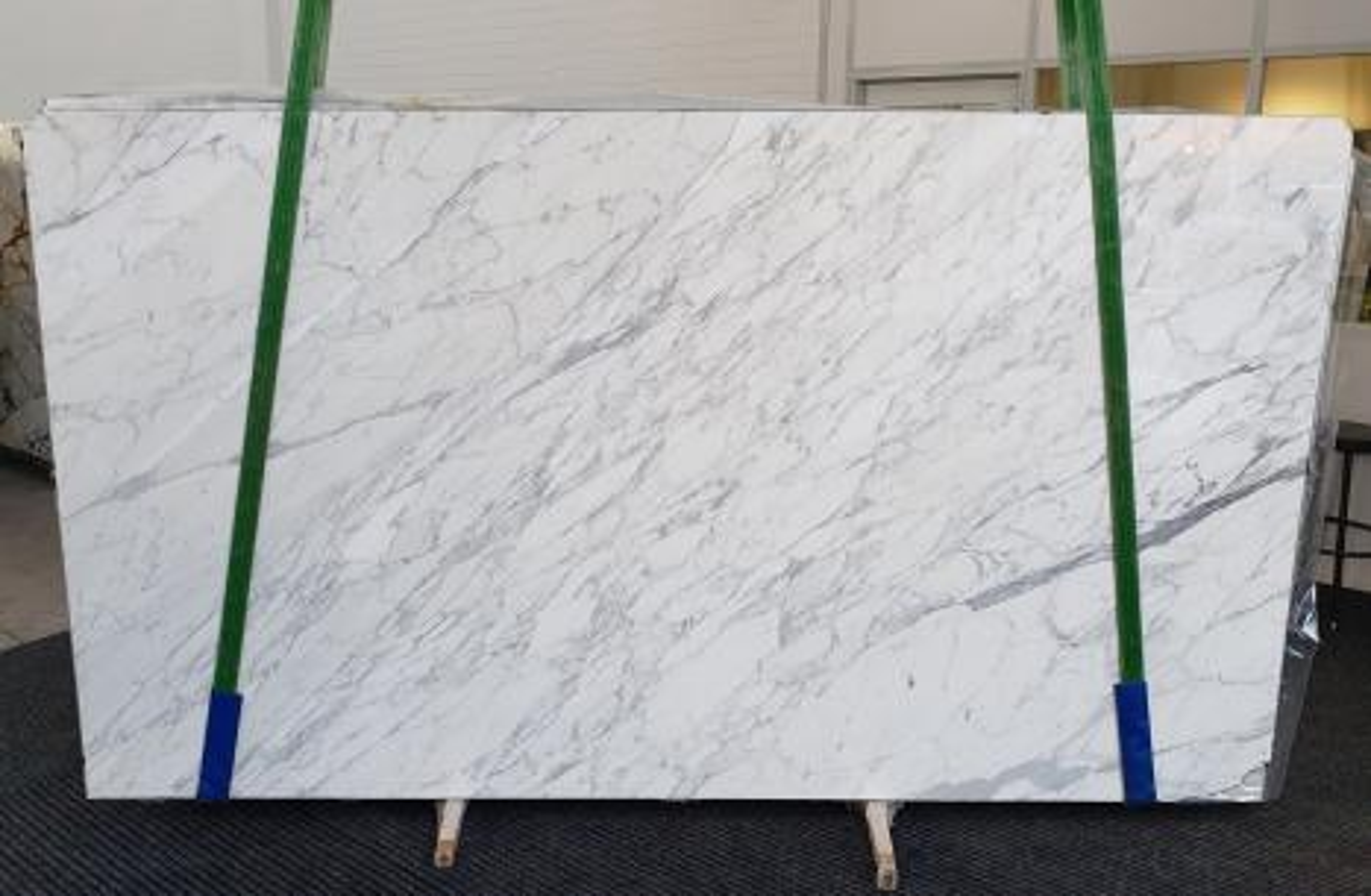 CALACATTA CARRARA polished slabs 1295 , Slab #06 natural marble