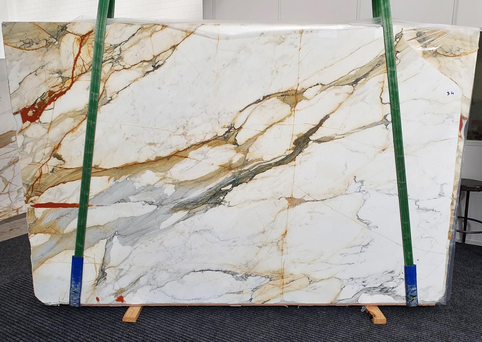 CALACATTA MACCHIAVECCHIA Supply Veneto (Italy) polished slabs 1422 , Slab #34 natural marble