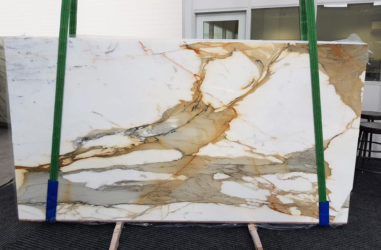 CALACATTA MACCHIAVECCHIA polished slabs GL 1130 , Bundle #5 natural marble