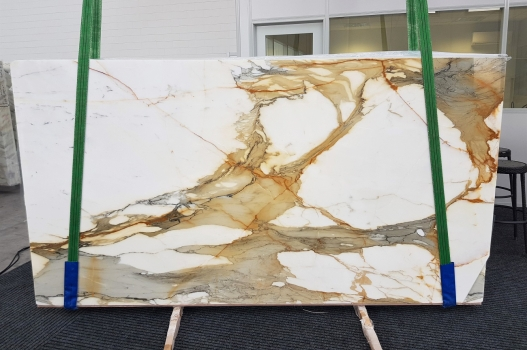CALACATTA MACCHIAVECCHIA polished slabs GL 1130 , Bundle #6 natural marble
