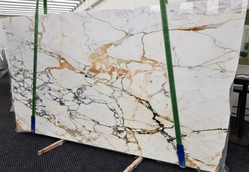 CALACATTA MACCHIAVECCHIA Supply (Italy) polished slabs GL 1131 , Bundle #1 natural marble
