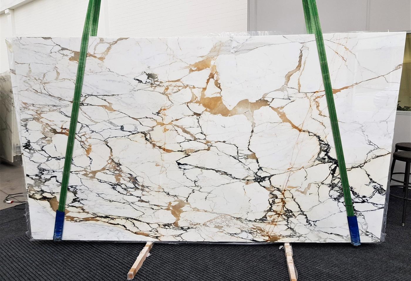 CALACATTA MACCHIAVECCHIA polished slabs GL 1131 , Bundle #4 natural marble
