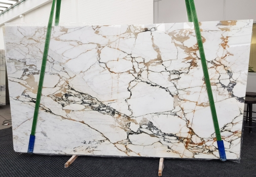 CALACATTA MACCHIAVECCHIA polished slabs GL 1131 , Bundle #8 natural marble