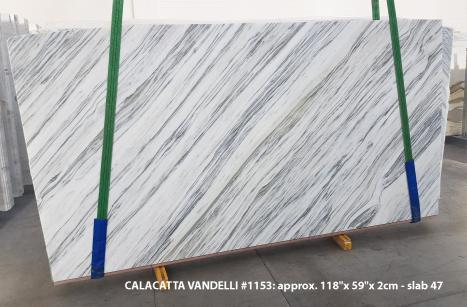 Calacatta Vandelli Supply Veneto (Italy) polished slabs 1153 , Slab #47 natural marble