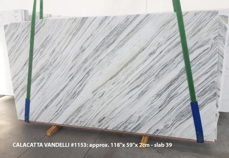 Calacatta Vandelli Supply Veneto (Italy) polished slabs 1153 , Slab #39 natural marble