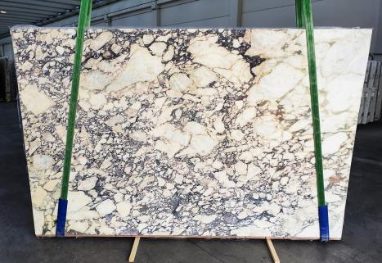 CALACATTA VIOLA Supply Veneto (Italy) polished slabs 1291 , Slab #34 natural marble