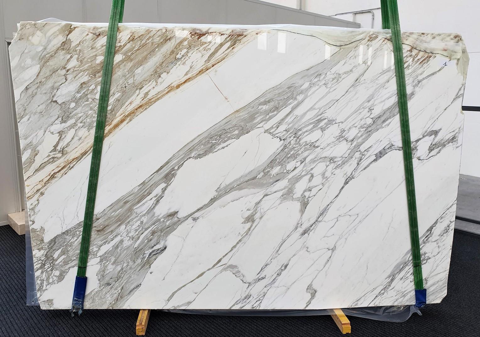CALACATTA Supply Veneto (Italy) polished slabs 1344 , A - slab #01 natural marble