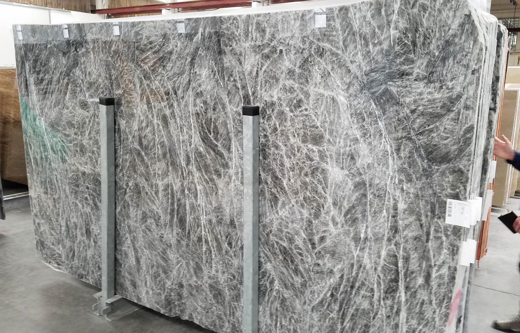 DIAMOND GREY polished slabs 1491M , Bundle #2 natural marble