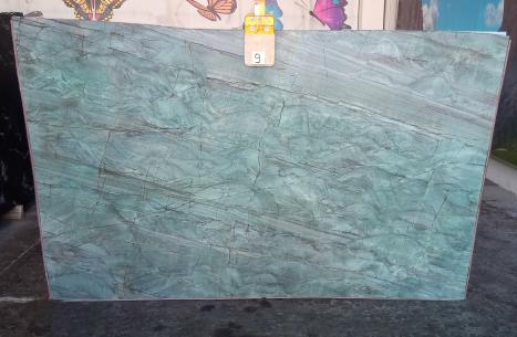 EMERALD GREEN Supply Veneto (Italy) polished slabs Z0209 , Slab #09 natural quartzite